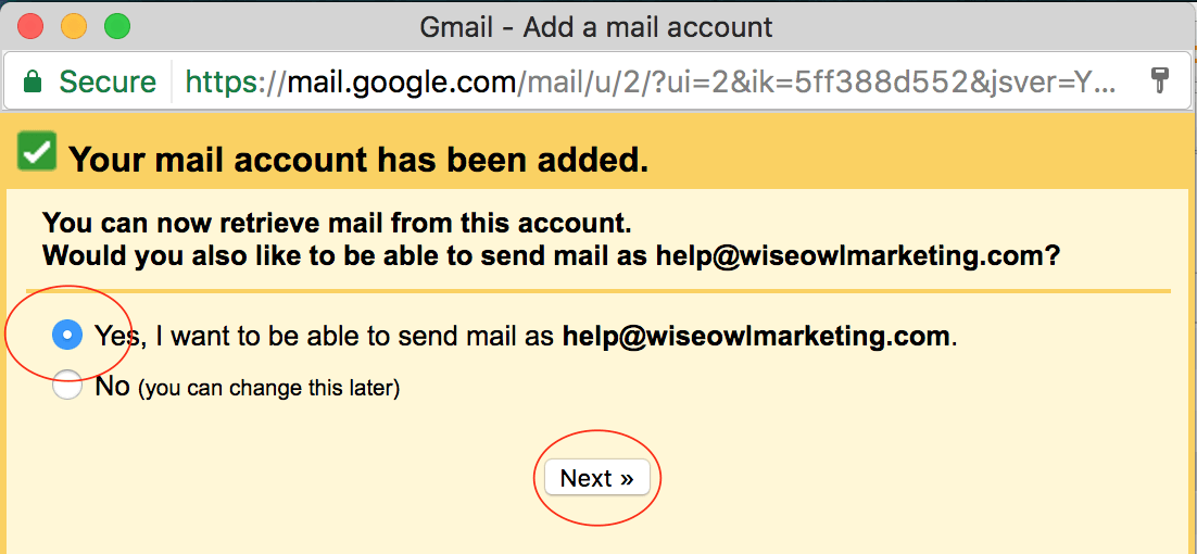 connect your domain email to gmail