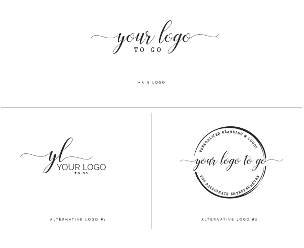 Your Logo to Go - Personalized Logos for Entrepreneurs